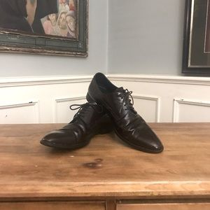Dolce and Gabbana Leather Derby Shoe